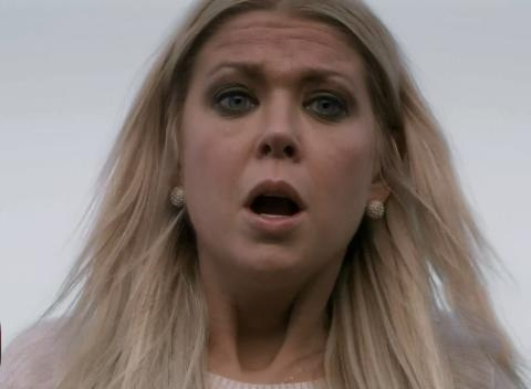 News video: Tara Reid: A Sharknado Is Actually Possible!