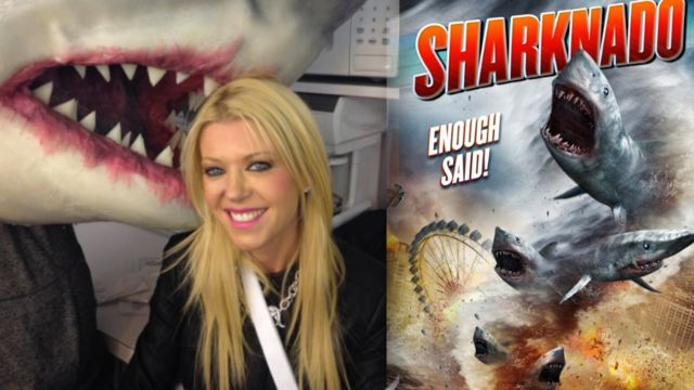 News video: A Sharknado Could Happen to You...Says Expert Tara Reid