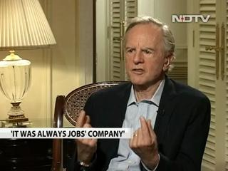 News video: Watch: 'Asking Steve Jobs To Step Down Was A Mistake' - Former Apple CEO