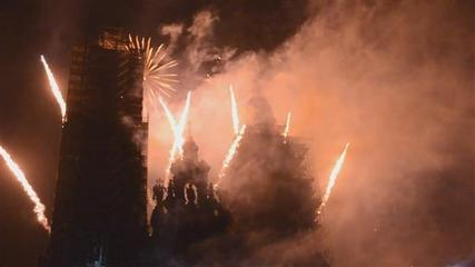 News video: 3D light and fireworks kick off Santiago festivities